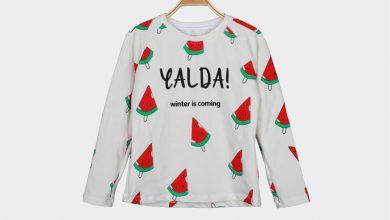 تصویر مدلهای جدید تی شرت زنانه مناسب شب یلدا با قیمت روز و خرید اینترنتی