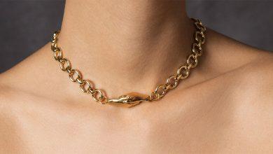 تصویر ۱۹ مدل گردنبند طلا ارزان برای هدیه دادن به خانم ها + خرید اینترنتی