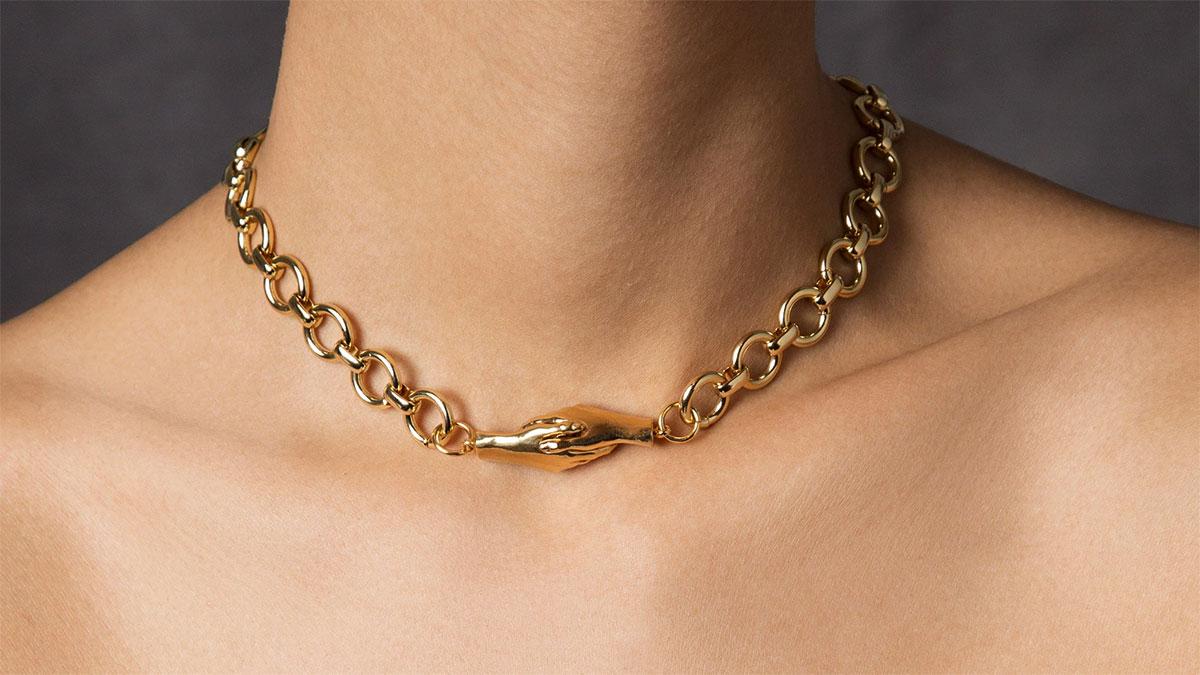 19 مدل گردنبند طلای ارزان برای هدیه دادن به خانم ها + خرید اینترنتی