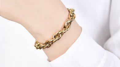 تصویر راهنمای خرید دستبند طلای بسیار زیبا+قیمت روز و خرید اینترنتی