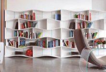 تصویر معرفی و خرید ۲۰ نمونه کتابخانه زیبا و باکیفیت + قیمت روز