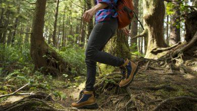 تصویر کفش کوهنوردی زنانه: معرفی و خرید ۲۱ نمونه باکیفیت و پرفروش+ قیمت روز