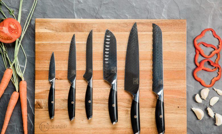 معرفی و خرید 28 نمونه سرویس چاقوی آشپزخانه زیبا و باکیفیت+ قیمت روز