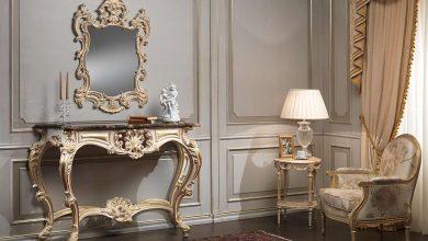 تصویر راهنمای خرید ۲۰ نمونه آینه و کنسول زیبا متناسب با دکوراسیون منزل شما+ قیمت روز