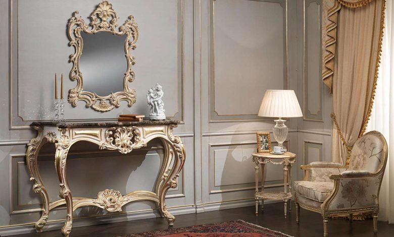 راهنمای خرید 25 نمونه آینه و کنسول زیبا متناسب با دکوراسیون منزل شما+ قیمت روز