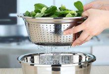 تصویر خرید ۲۸ نمونه آبکش آشپزخانه باکیفیت و پرفروش+ قیمت روز