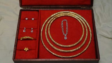 تصویر راهنمای خرید ۴۰ نمونه جعبه جواهرات زیبا و باکیفیت+ قیمت روز