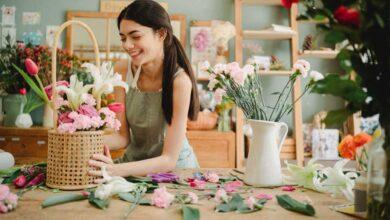 تصویر راهنمای خرید انواع سبد گل خواستگاری و هدیه زیبا+ قیمت روز