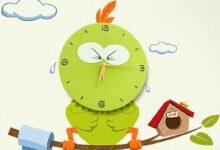 تصویر راهنمای خرید انواع ساعت دیواری کودک زیبا و پرفروش+ قیمت روز