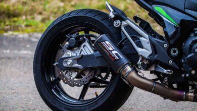 تصویر راهنمای خرید انواع اگزوز موتور سیکلت شرکتی و اسپورت + قیمت روز