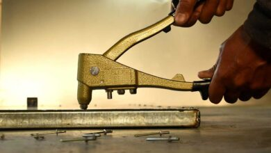 تصویر راهنمای خرید و انتخاب انبر پرچ دستی ارزان + قیمت روز