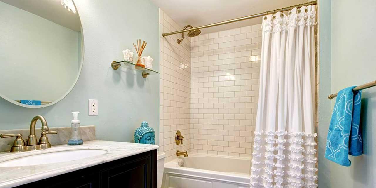 راهنمای خرید 25 مدل پرده حمام باکیفیت و پرفروش+ قیمت روز