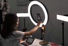 تصویر راهنمای خرید و معرفی انواع رینگ لایت عکاسی و آرایشی ارزان+ قیمت روز