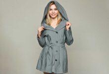 تصویر خرید و انتخاب انواع بارانی زنانه جدید، شیک و ارزان+ قیمت روز