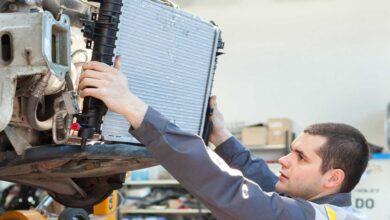 تصویر راهنمای خرید رادیاتور آب خودرو چهار لول اصل، شرکتی+ قیمت روز
