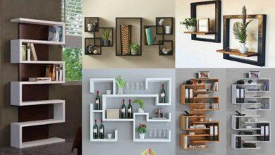 تصویر راهنمای خرید انواع شلف دیواری زیبا و مدرن+ قیمت روز