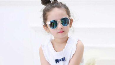 تصویر راهنمای خرید عینک آفتابی دخترانه اسپورت، جدید و ارزان + قیمت روز