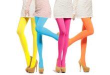 تصویر راهنمای خرید جوراب شلواری زنانه رنگ پا و گیپور ارزان+ قیمت روز