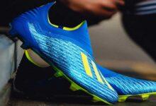 تصویر راهنمای خرید بهترین برندهای کفش فوتبال مردانه چمنی و سالنی ارزان