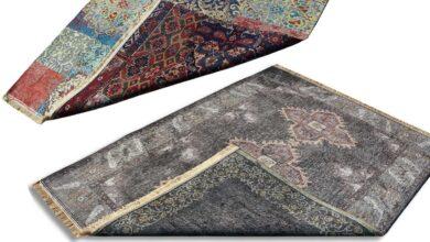 تصویر راهنمای خرید فرش ماشینی دو رو جدید، خوش نقشه و زیبا+قیمت روز