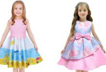 تصویر راهنمای خرید جدیدترین مدلهای سارافون دخترانه زیبا و ارزان+قیمت روز