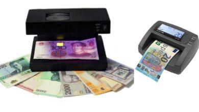 تصویر راهنمای خرید دستگاه تشخیص اصالت اسکناس دلار، یورو، ریال+قیمت روز