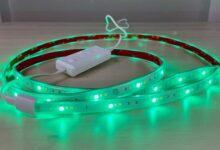 تصویر ریسه الایدی: راهنمای خرید انواع ریسه LED شلنگی و برچسبی ارزان