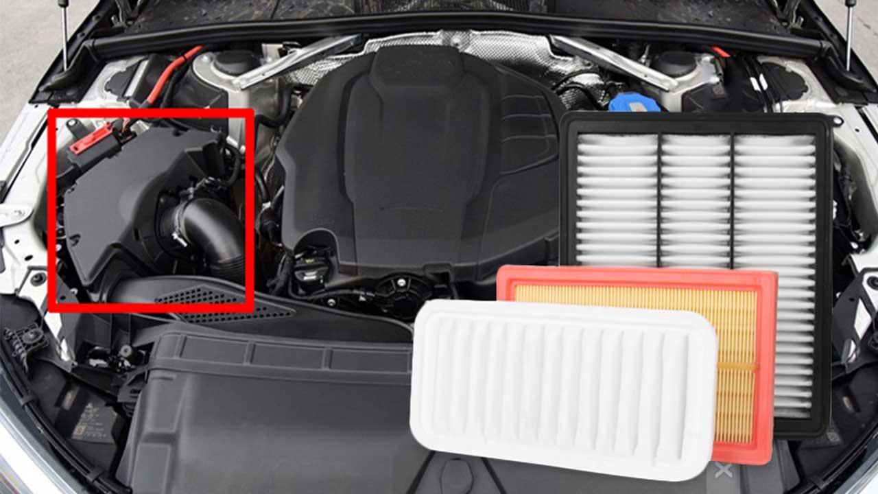 راهنمای خرید انواع فیلتر هوای خودرو اسپورت و شرکتی ارزان