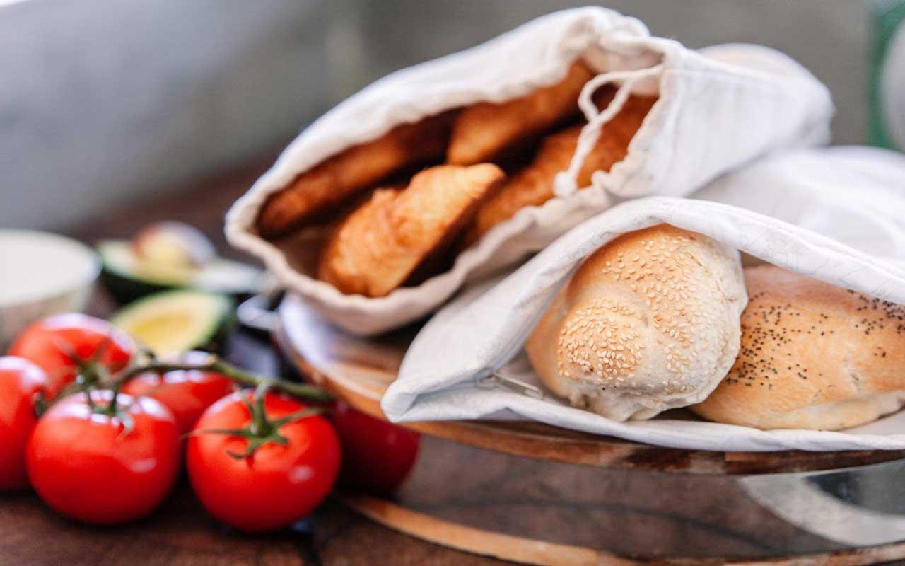 راهنمای خرید انواع کیسه نان و سبزی پارچهای ارزان