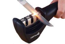 راهنمای خرید انواع چاقو تیزکن دستی، برقی و هیبریدی ارزان