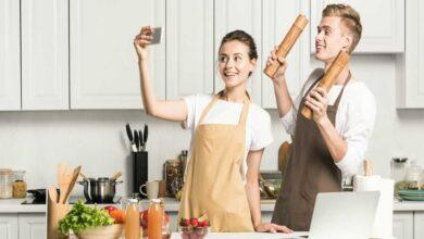 راهنمای خرید انواع پیشبند آشپزخانه زیبا و ارزان